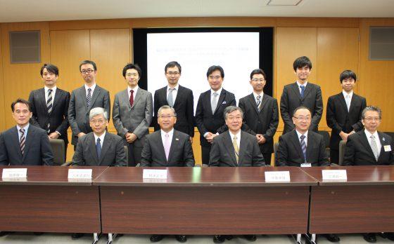 須賀川市・公立岩瀬病院との共同記者会見を行いました。