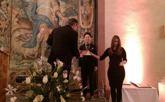 フェローの大前が「日本・欧州泌尿器科学会国際学術交流プログラム奨学賞」を受賞しました。