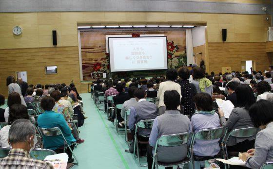 福島県須賀川市で認知症のシンポジウムを開催しました