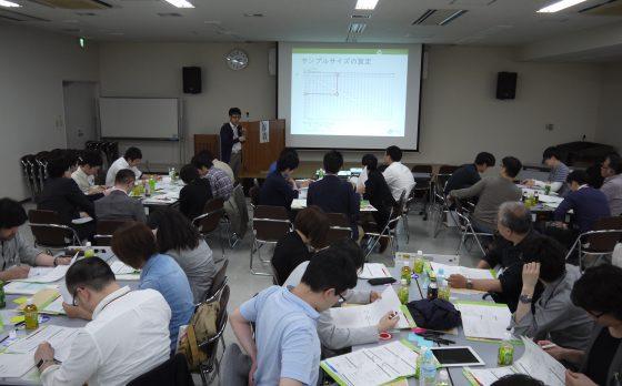 臨床研究デザイン塾 in 北海道でフェローの長沼が講師を務めました